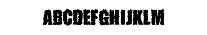 MONSTERZ Font LOWERCASE