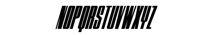MOON Runner Condensed Italic Font UPPERCASE