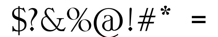 MORGENTA Font OTHER CHARS