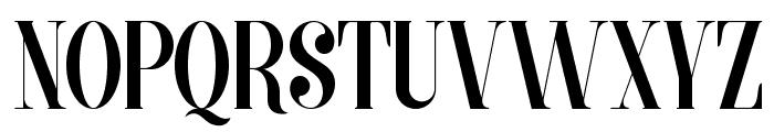 MORVA Font UPPERCASE