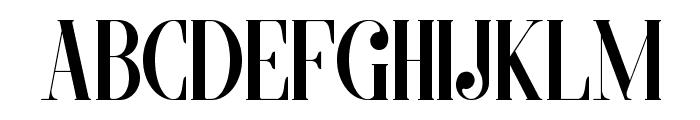 MORVA Font LOWERCASE