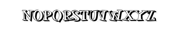 MOSKITOES SHADOW Font UPPERCASE