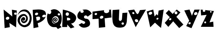 MOUSE-TRAP! Font LOWERCASE