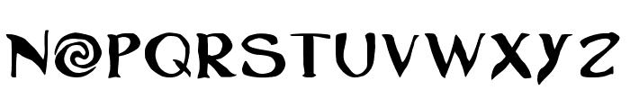 Moanas Font UPPERCASE