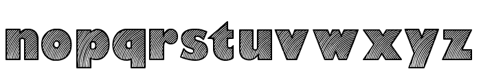 Moaren Regular Font LOWERCASE