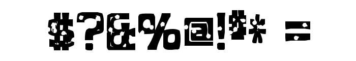 MobConcrete-Regular Font OTHER CHARS