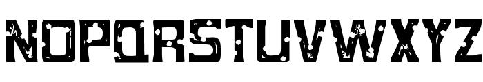MobConcrete-Regular Font UPPERCASE