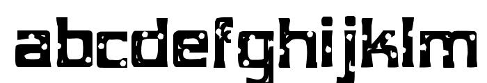 MobConcrete-Regular Font LOWERCASE