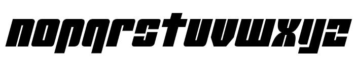 Mobile Infantry Italic Font LOWERCASE