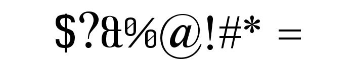 Mobile Sans Font OTHER CHARS
