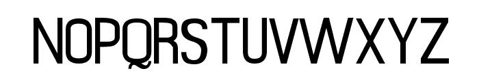 Mobile Sans Font UPPERCASE