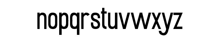 Mobile Sans Font LOWERCASE