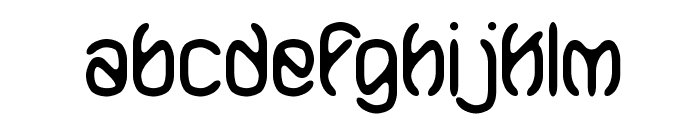 Mobilize BRK Font LOWERCASE