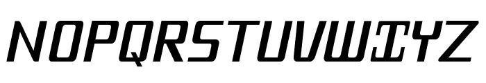 MobitaleCnd-Italic Font UPPERCASE