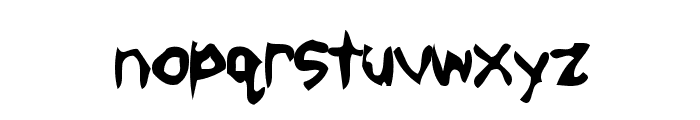 Mobster Font LOWERCASE
