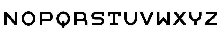 Moby regular Font UPPERCASE