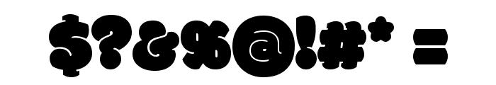 Modak Font OTHER CHARS
