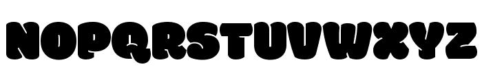 Modak Font UPPERCASE