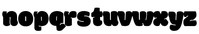 Modak Font LOWERCASE