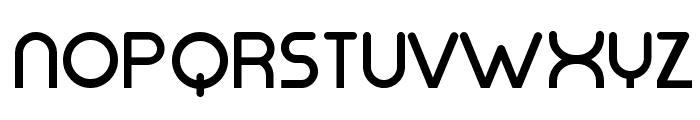 Mode G Regular Font UPPERCASE