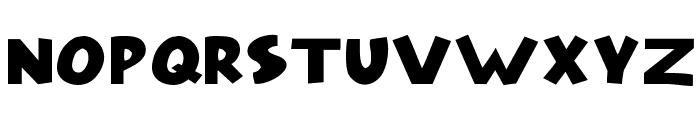 Model Font UPPERCASE