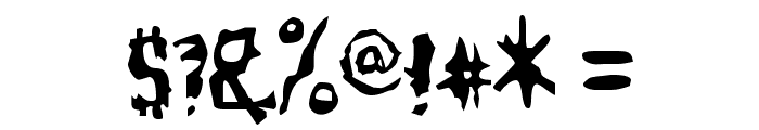 ModelWorker-Regular Font OTHER CHARS