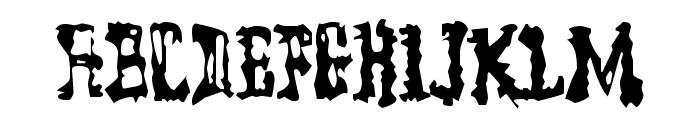ModelWorker-Regular Font LOWERCASE