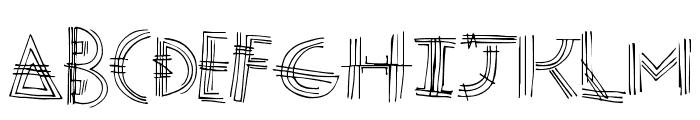 ModenPost Font LOWERCASE
