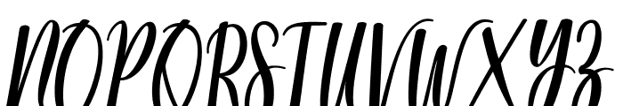 Modena Regular Font UPPERCASE