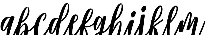 Modena Regular Font LOWERCASE