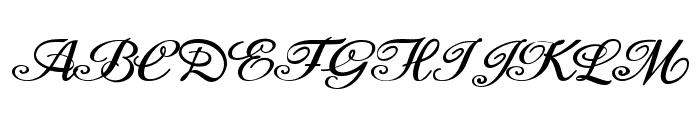 Moderata Personal Use Font UPPERCASE