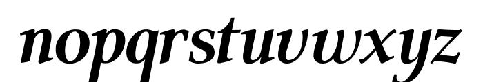 ModerataSerif Bold Italic Font LOWERCASE