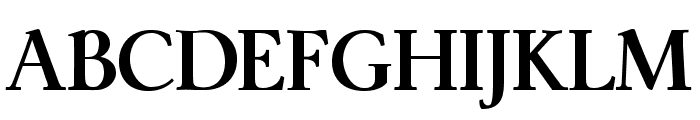 ModerataSerif Bold Font UPPERCASE