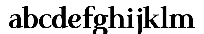 ModerataSerif Bold Font LOWERCASE