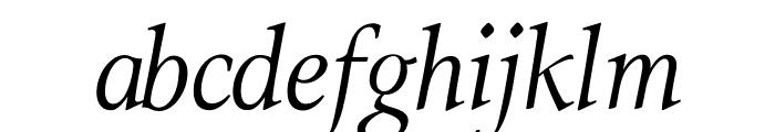 ModerataSerif Italic Font LOWERCASE