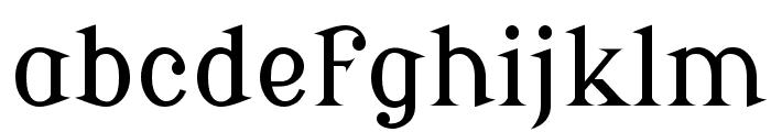 Modern Antiqua Regular Font LOWERCASE