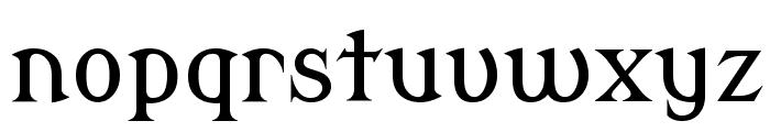 Modern Antiqua Font LOWERCASE