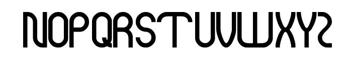Modern Building Font UPPERCASE