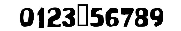 Modern Conformist Font OTHER CHARS