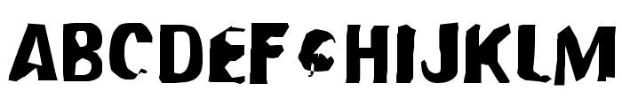 Modern Conformist Font UPPERCASE