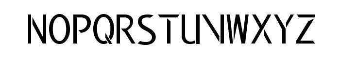 Modern Edge Font LOWERCASE