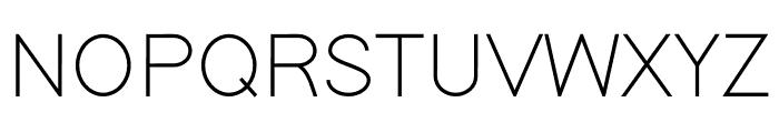 Modern Sans Light Font UPPERCASE