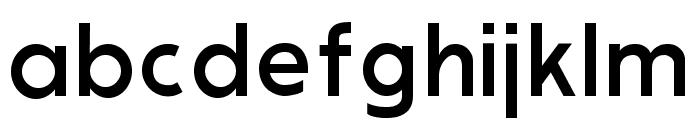 Modern Sans Font LOWERCASE
