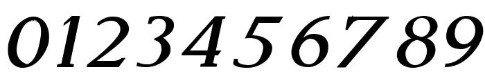 Modern Serif Italic Font OTHER CHARS