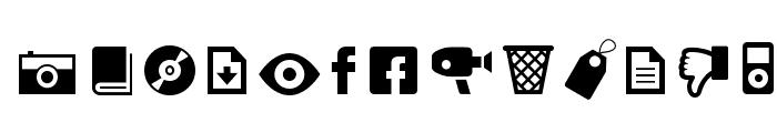 ModernPictograms Font UPPERCASE