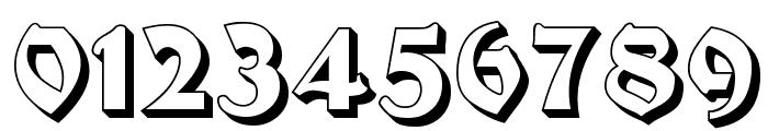 Moderne 3D Schwabacher Font OTHER CHARS