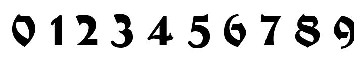 Moderne Fette Schwabacher UNZ1A Italic Font OTHER CHARS