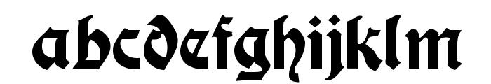 ModerneSchwabacher Font LOWERCASE