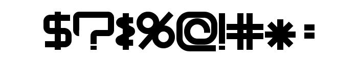 ModernismBold Font OTHER CHARS