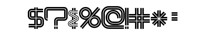 ModernismStroke Font OTHER CHARS